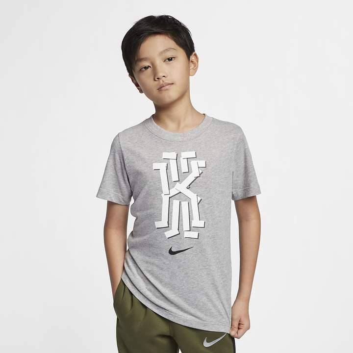 ab7cbf0a5e Big Kids' (Boys') Basketball T-Shirt Dri-FIT Kyrie
