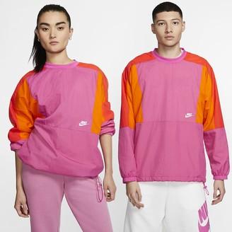 Nike Men's Woven Color-Block Crew Sportswear