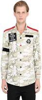 M.r.k.t. Cotton Gabardine Camouflage Shirt
