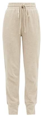 The Upside Long Island Logo-print Cotton Track Pants - Womens - Beige