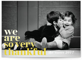 Minted Simple Thanks Thanksgiving Cards