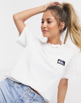 Quiksilver Label Standard t-shirt in white
