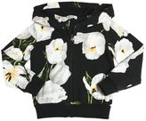 Dolce & Gabbana Floral Printed Cotton Hooded Sweatshirt