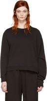 MM6 MAISON MARGIELA Black Basic Asymmetric Pullover