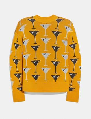 Coach Martini Crewneck Sweater