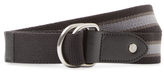 Fred Perry Striped Webbing Reversible Belt