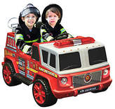 QVC 12V Two Seater Ride-on Fire Engine
