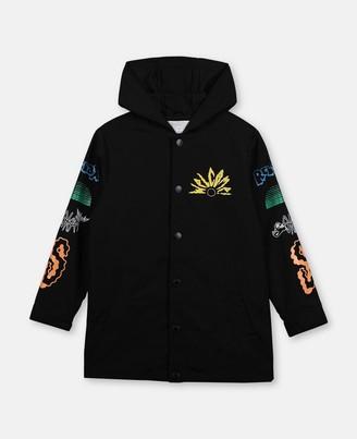 Stella Mccartney Kids Stella McCartney paradise polyester jacket
