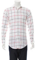 Thom Browne Windowpane Button-Up Shirt