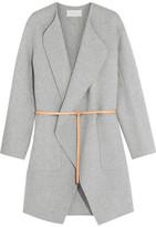 Vanessa Bruno Dugny Oversized Belted Wool And Cashmere-blend Coat - FR40