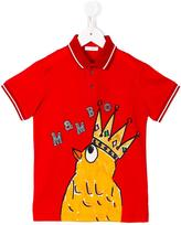 Dolce & Gabbana Mambo print T-shirt - kids - Cotton/Viscose - 2 yrs