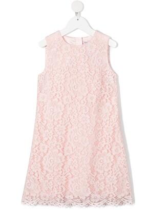 Dolce & Gabbana Kids Lace Sleeveless Dress