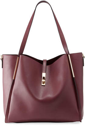 Neiman Marcus Abigale Faux Leather Tote Bag