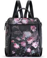 Elliott Lucca Black Rose Floral Olvera Backpack