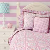Caden Lane Modern Vintage Girl Bedding in Pink