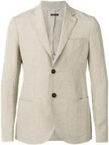 Giorgio Armani classic blazer - men - Silk/Linen/Flax/Cupro - 46
