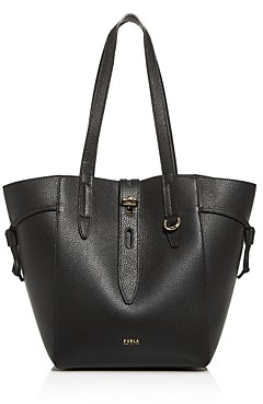 Furla Net Leather Tote