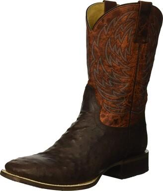 Roper Men's Diesel Western Boot Brown 8.5 EE Wide US