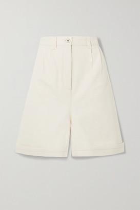 Loewe Denim Shorts - Ivory
