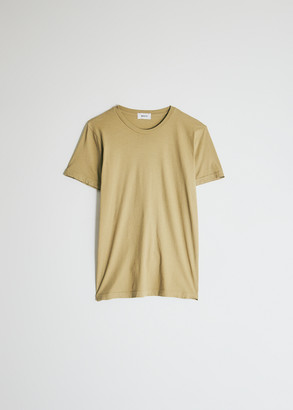 Need Women's Short Sleeve Dye T-Shirt in Olive, Size Extra Small | 100% Cotton