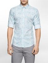 Calvin Klein Slim Fit Granite Print Shirt
