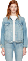 Amo Blue Denim Pop Jacket