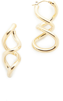 Soave Oro Twist Earrings