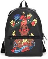 Bally X Swizz Beatz Canvas Backpack