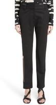 Proenza Schouler Women's Stretch Wool Straight Leg Pants
