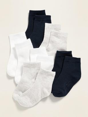 Old Navy Unisex 6-Pack Crew Socks for Toddler & Baby