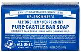 Dr. Bronner's Pure-Castile Bar Soap - Peppermint 5oz. (Pack of 3)