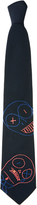 Vivienne Westwood Puppets Tie Navy One Size