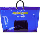 DSQUARED2 Blue PVC Blessed2 Tote