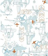 York Wall Coverings York wallcoverings Disney's Planes Blueprint Removable Wallpaper