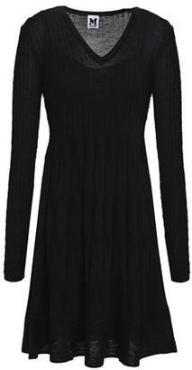 M Missoni Flared Crochet-knit Wool-blend Dress