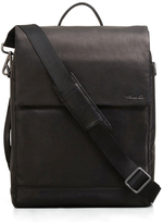 Kenneth Cole Leather Convertible Backpack