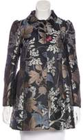 RED Valentino Patterned Short Coat