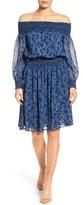 MICHAEL Michael Kors Petite Women's Arbor Off The Shoulder Dress