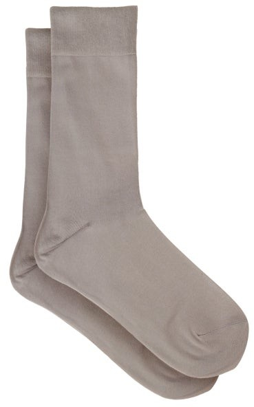 Falke Touch Cotton-blend Socks - Light Grey