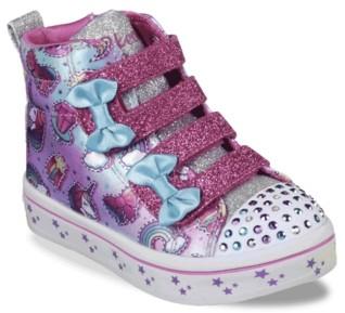Skechers Twinkle Toes Twi Lites Mini Mojis Light-Up Sneaker - Kids'