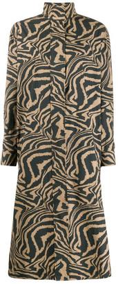 Ganni Cotton Long Dress