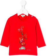 Paul Smith bicycles print top - kids - Cotton - 12 mth