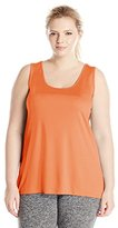 Just My Size Women's Plus-Size Cooldri Tank