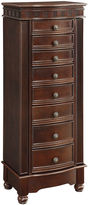Asstd National Brand Espresso Jewelry Armoire