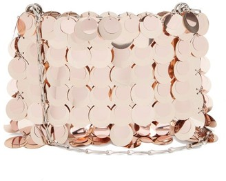 Paco Rabanne Sparkle 1969 Sequinned Shoulder Bag - Light Pink