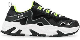 MSGM Attack chunky sole sneakers