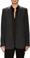 Vince Women's Wool Notch Collar Boy Blazer