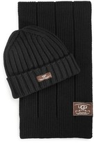 UGG Ribbed Scarf and Hat Set