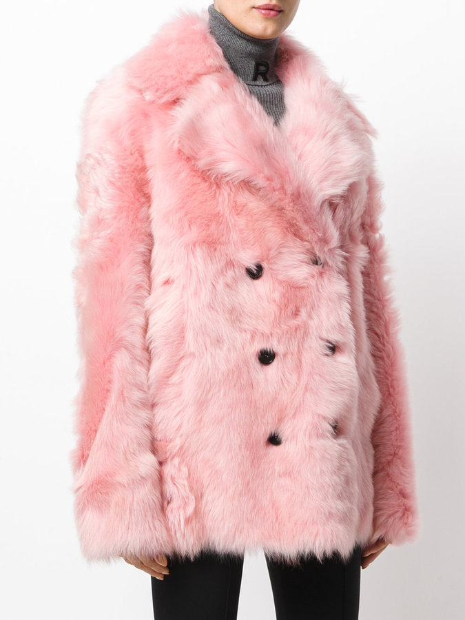 Rochas double-breasted coat