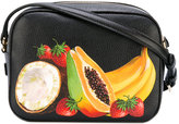 Dolce & Gabbana fruit print satchel - women - Leather - One Size